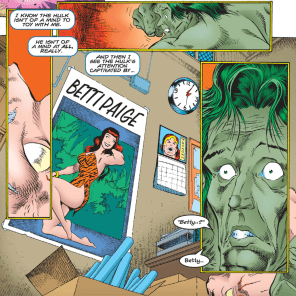 Start your red-string maps here. (Incredible Hulk #444)