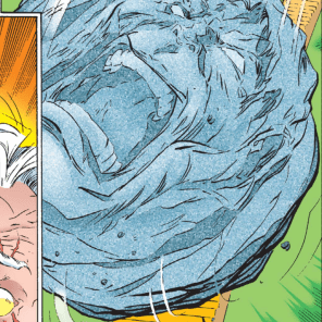 GIANT SCREAMING ROCK! (Incredible Hulk #444)