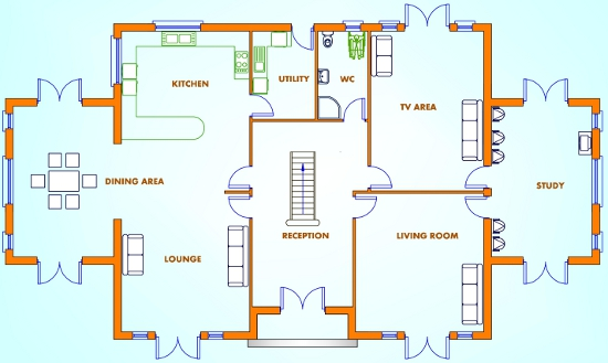 5 Bed House Plans Buy House Plans Online The UK's Online House