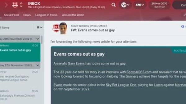 football manager 2018 gay