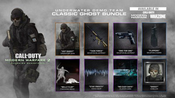modern warfare 2 campaign remastered bonus