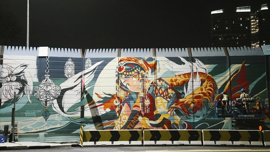 xplode liao_新加坡_涂鸦_名人堂