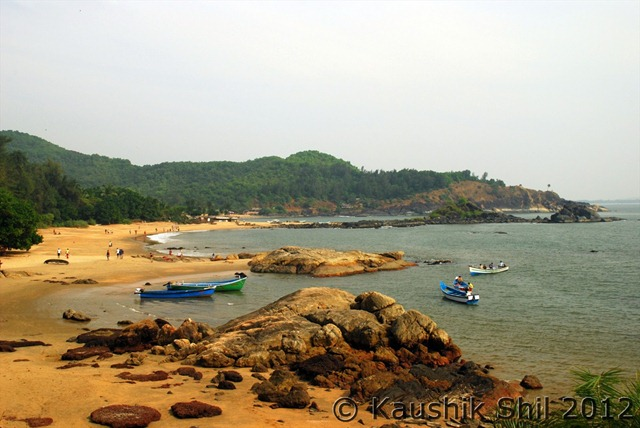OM Beach, Gokarn, Karnataka, India