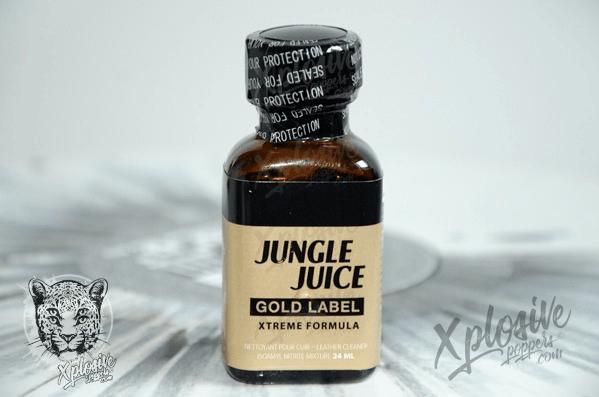 Poppers JUNGLE JUICE Gold Label AMYL 24ml | Pas cher
