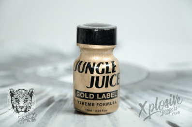 Poppers jungle juice gold label xtrem formula 10ml