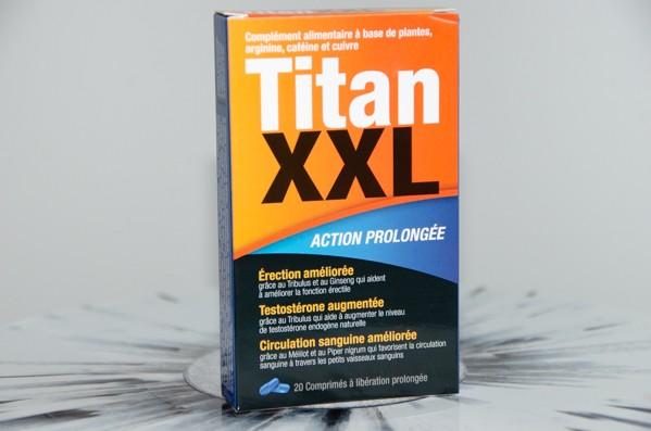 Titan XXL - Stimulant Pas cher