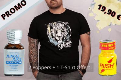 1 T-shirt OFFERT dans ce pack « Xplosive »
