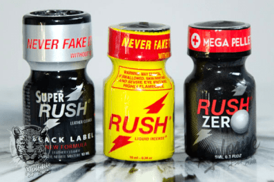 Pack poppers RUSH