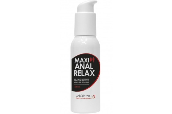 MAXI ANAL RELAX – 100 ml . Avec Pompe