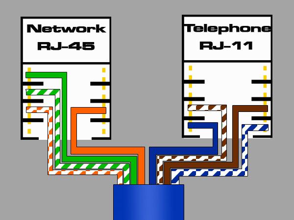 Wiring Diagram Rj11 To Rj45