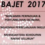 Bajet 2017 Pendidikan dan Kerjaya Guru