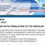 Sistem Pengurusan  Emis data online KPM
