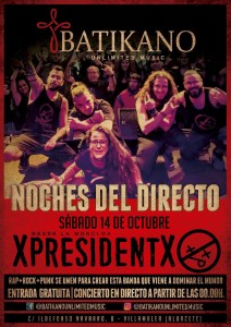 Xpresidentx - Batikano Villamalea Rap punk metal