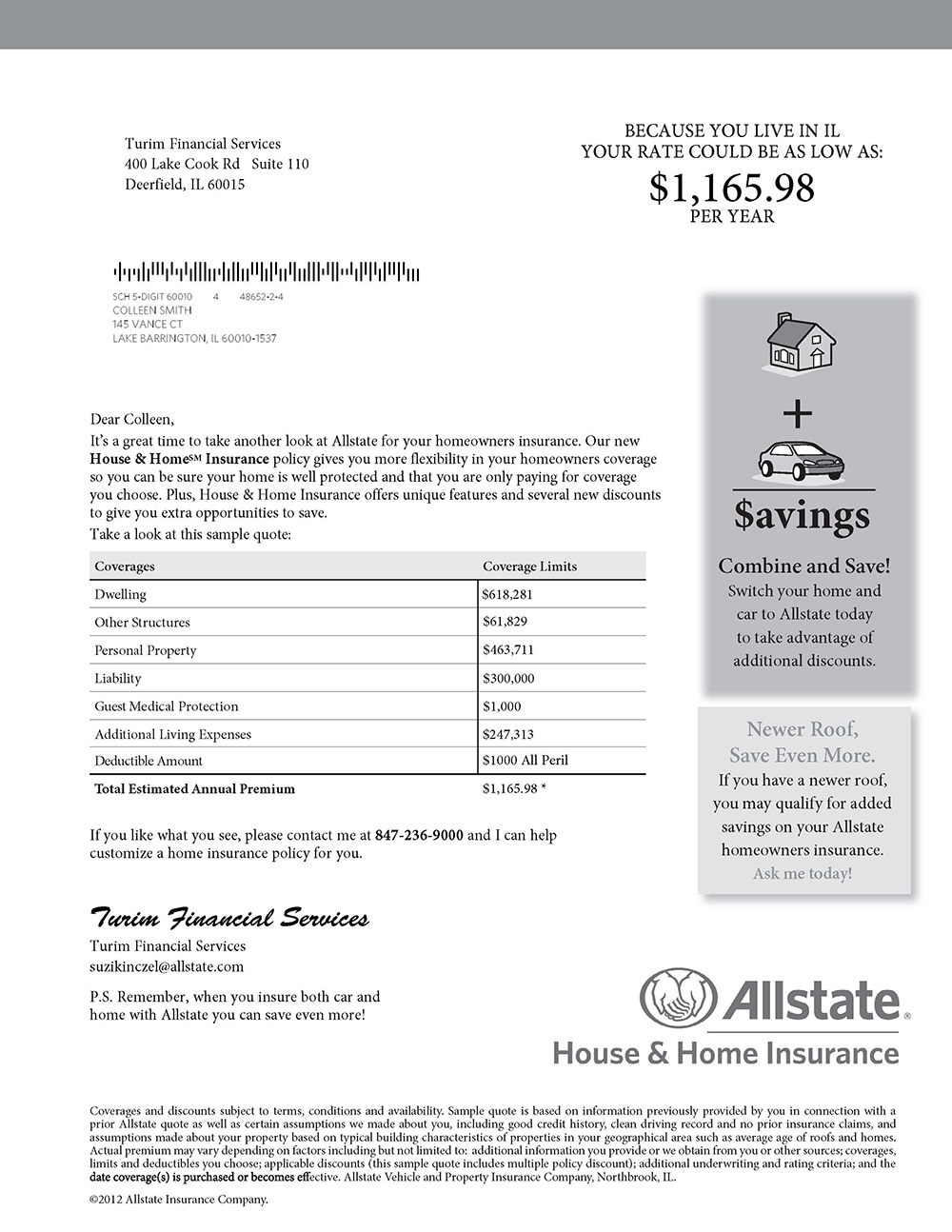Allstate Quote Online Allstate Insurance Quote Home Picture