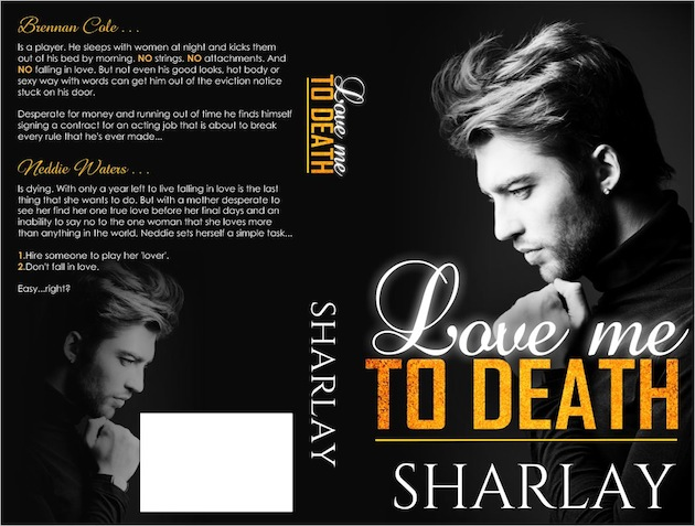 Love Me To Death Book Cover (Paperback)