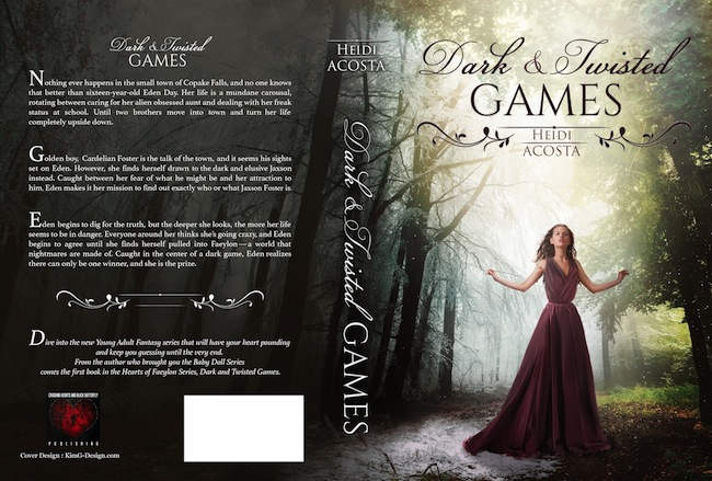 Dark&Twisted Games paperpack book cover