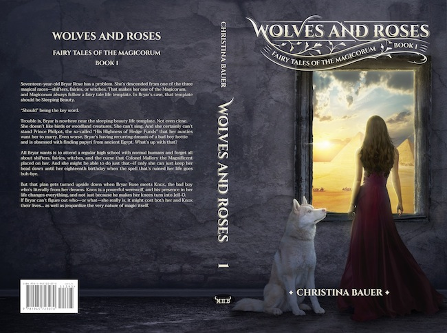 COVER Wolves Roses By Christina Bauer The Book Adventures Of