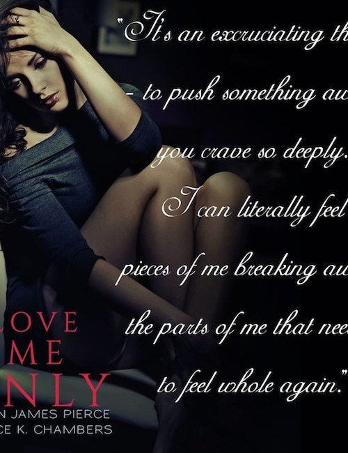Love Me Only teaser graphic