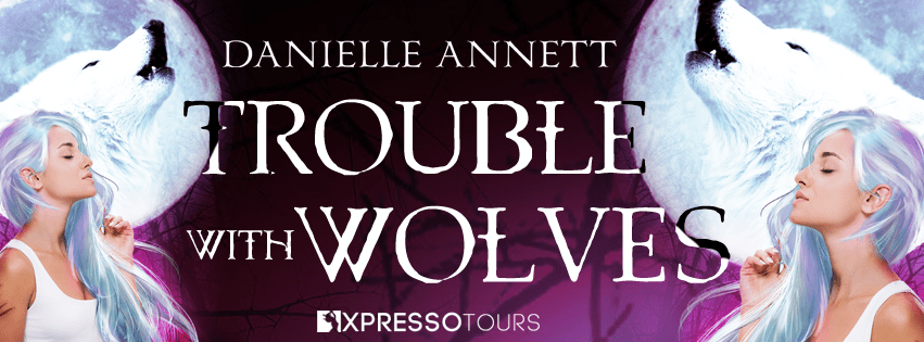 Trouble with Wolves cover reveal banner