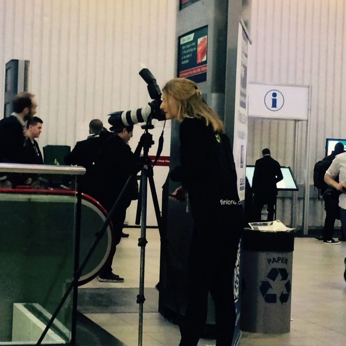 ISE 2015 shootong first day