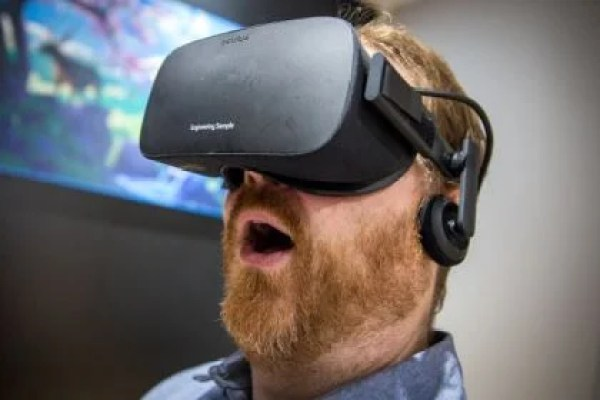 VR with beard