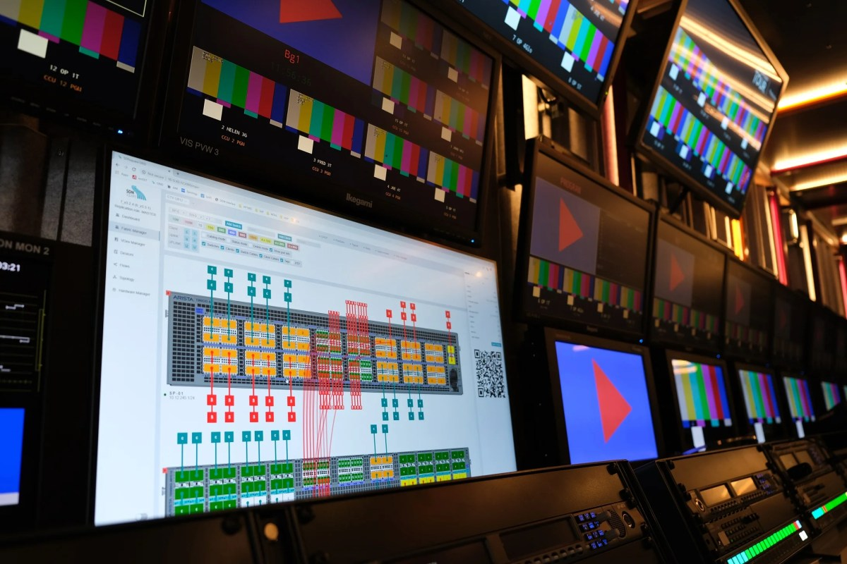SDNsquare's GRID Adds IP modularity to the CTV OB Golf Truck