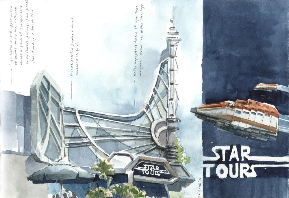 Tomorrowland . Star Tours