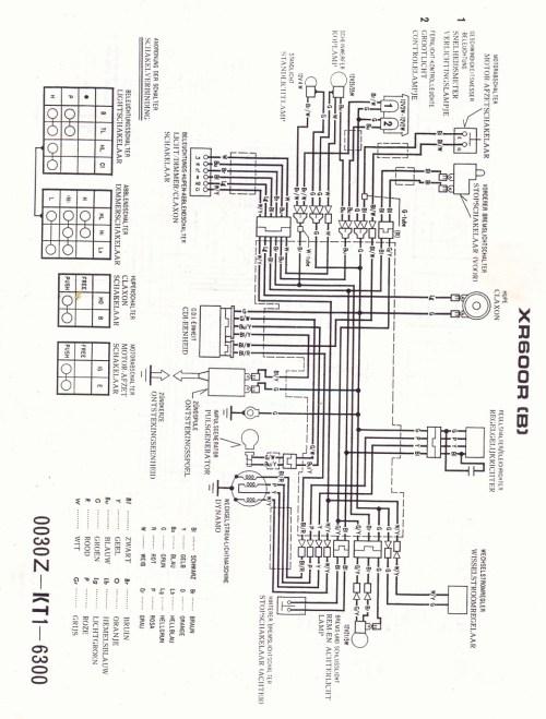 small resolution of honda xl 600 wiring diagram wiring diagrams lol 1987 xl600r honda xl600r wiring diagram