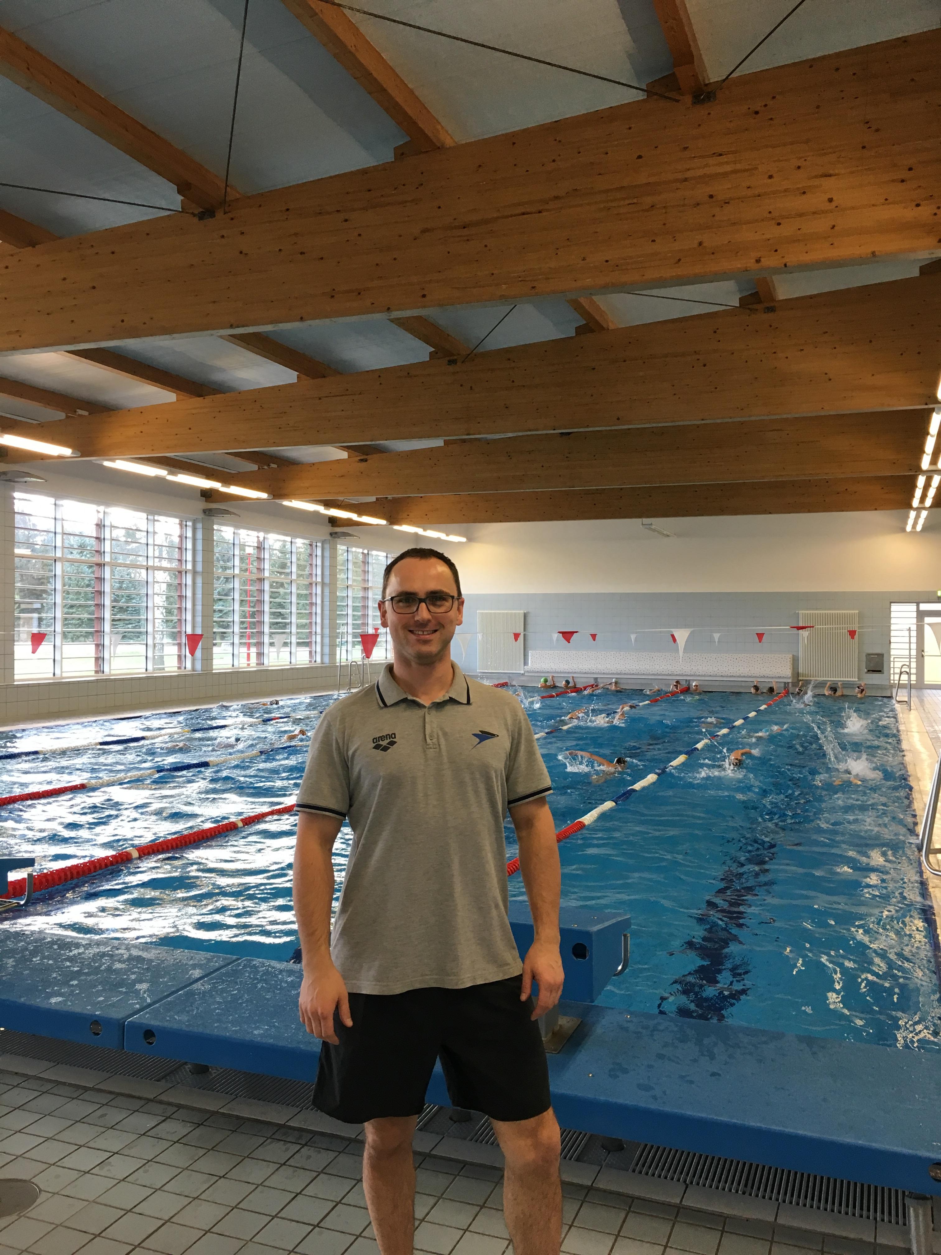 Alexander Steinhart Talentsichtung Berliner Schwimm-Verband
