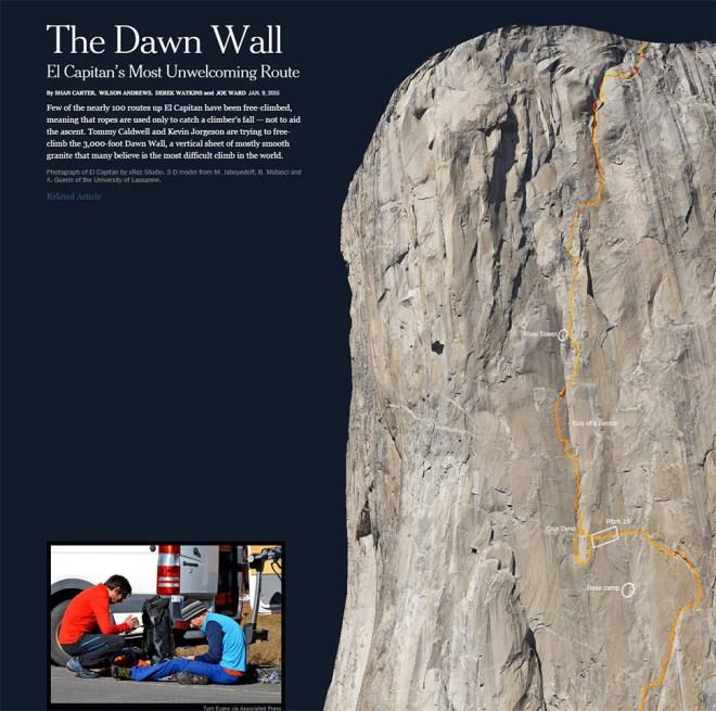 The Dawn Wall Interactive