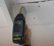 Testing Soffit with XRF