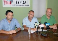 ΣΥΡΙΖΑ:  «Η υγεία είναι κοινωνικό αγαθό, όχι εμπόρευμα»