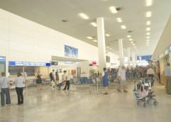 Φωτιά στο αεροδρόμιο Καβάλας