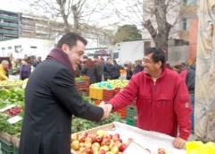 Δήλωση Μάκη Παπαδόπουλου για τα προβλήματα της αγοράς του Δήμου Καβάλας