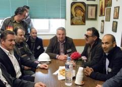 Ο Βαγγέλης Παππάς στην ELFE: «Πρέπει να διασφαλίσουμε ότι δεν θ' αλλάξει κατεύθυνση η παραγωγή του εργοστασίου»