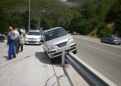 Καβάλα: Αυτοκίνητο κάνει ακροβατικά!!!