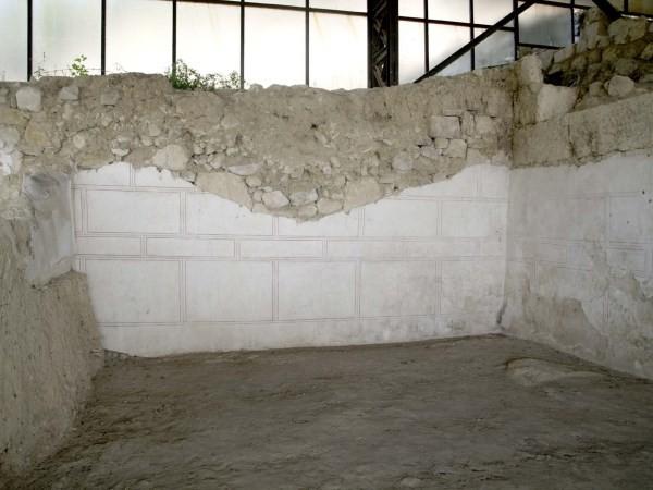 Το πρώτο δωμάτιο της οικίας της ελληνιστικής περιόδου