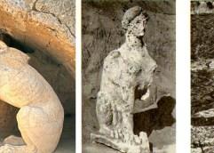 Ανασκαφή Αμφίπολης: Το κεφάλι της σφίγγας και πέτρες, ατάκτως ερριμμένα
