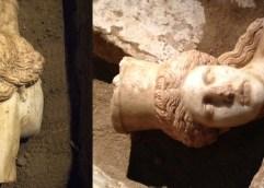 Ανασκαφή Αμφίπολης: Βρέθηκε το κεφάλι της Σφίγγας με αινιγματικό χαμόγελο στα χείλη!!!