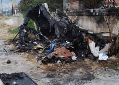 Πήραν φωτιά τα αποδυτήρια λουομένων στο Περιγιάλι