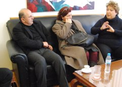 Πρώτη συνάντηση σήμερα της Δήμητρας Τσανάκα με τους βουλευτές του ΣΥ.ΡΙΖ.Α. Καβάλας