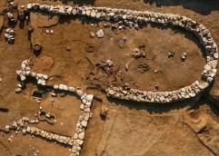 Μεταφορά αψιδωτού κτιρίου που αποκαλύφθηκε στον Πλαταμώνα Πιερίας, για ν' αναδειχθεί
