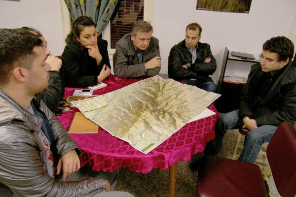 Στιγμιότυπο από τα σεμινάρια σπηλαιολογία που οργανώνει ο κ. Κατσούλης και η Σπηλαιολογική ομάδα Καβάλας, κάθε χρόνο.
