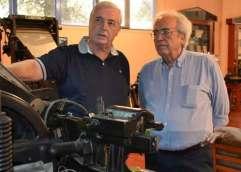 Επίσκεψη του Υπουργού Πολιτισμού και Αθλητισμού, κ. Αριστείδη Μπαλτά στο Μουσείο Τυπογραφίας στα Χανιά