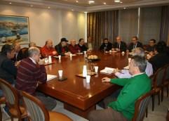 Επίσκεψη ενημέρωσης του Περιφερειάρχη Χρήστου Μέτιου στην Περιφερειακή Ενότητα Καβάλας