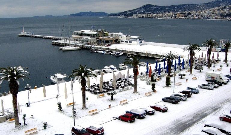 Η χιονοκάλυψη στην Ελλάδα πλησιάζει το ελάχιστο 15 ετών
