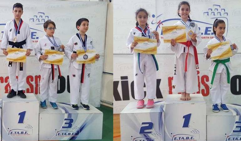 Α.Σ. ΤΑΕΚΒΟΝΤΟ ΚΑΒΑΛΑΣ : Διακρίσεις στο πρωτάθλημα Kim & Liu της Θεσσαλονίκης