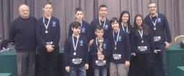 10ο Πανελλήνιο ομαδικό πρωτάθλημα σκακιού Π-Κ: Το χάλκινο μετάλλιο κατέκτησε ο ΣΟ Καβάλας, 8ος ο ΟΦΣΚ