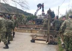 ΑΥΤΟΨΙΑ ΣΤΗΝ ΠΕΣΜΕΝΗ ΓΕΦΥΡΑ: Αν δεν γίνει στατική μελέτη, δεν μπορεί να βάλει γέφυρα ο στρατός