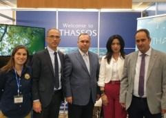 Συνάντηση στον Δήμο Θάσου με Εκπροσώπους των Συλλόγων Επαγγελματιών εν όψει της έναρξης της τουριστικής περιόδου